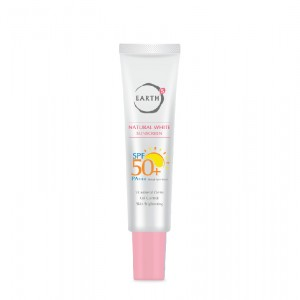 EARTHs Natural White Sunscreen SPF50+ PA+++